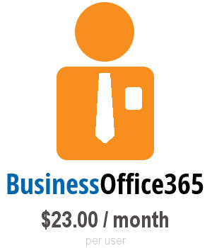 Business Office365 $23.00 / month per user