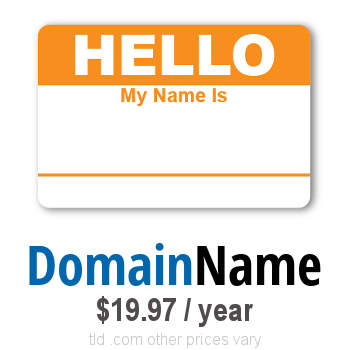 domain name registration - own your web 100% guarantee - our online company